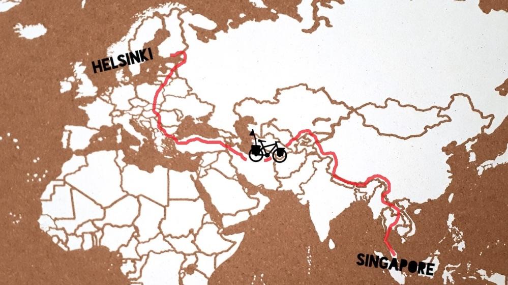 map con recorrido